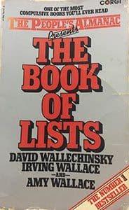Make it sticky book of lists